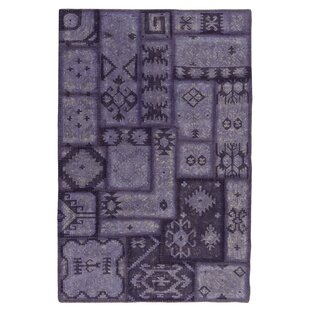 Affordable Annabelle Kilim Hand-Woven Lavender Patchwork Area Rug ByKosas Home