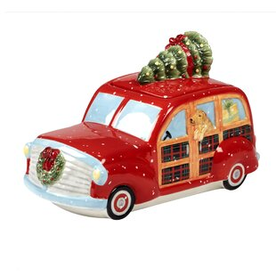 Esther 3-D Truck 3 qt. Cookie Jar