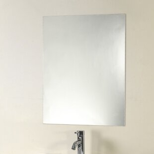 Orren Ellis Rolle Frameless Wall Mirror
