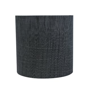 Reviews 5'' Fabric Drum Lamp Shade By Winston Porter