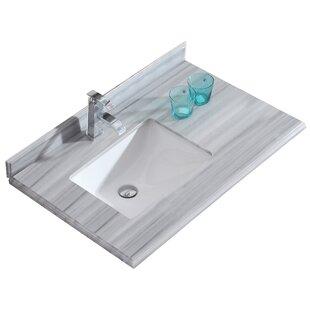 Odyssey 36 Single Bathroom Vanity Top by Laviva