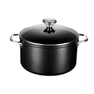 Toughened Nonstick Stock Pot with Lid