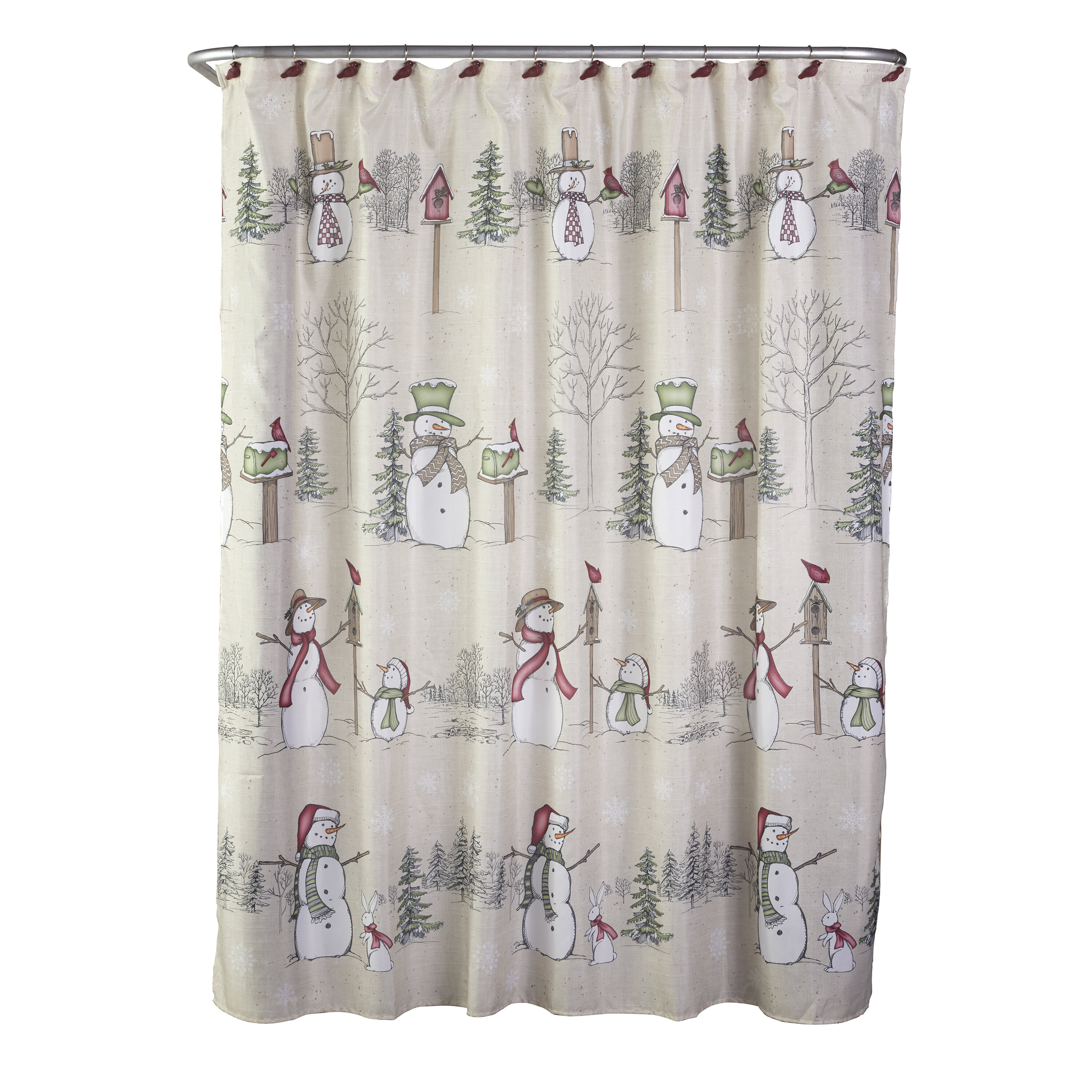 Home Bath Wash Your Worries Away Shower Decor Polyester