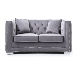 Smollin Chesterfield Loveseat ..