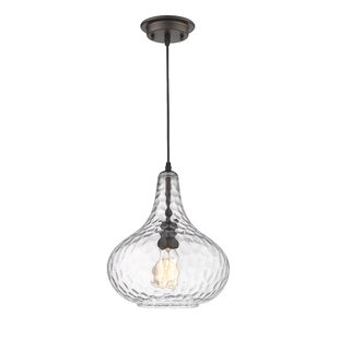 Gracie Oaks Welty Transitional 1-Light Te..