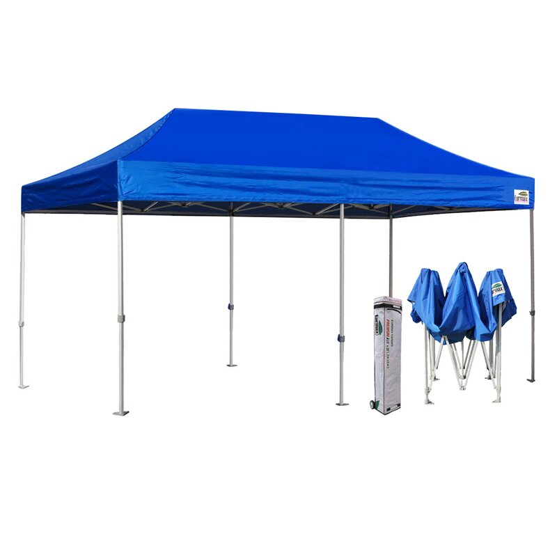 Eurmax Premium 20 Ft W X 10 Ft D Steel Pop Up Party Tent Canopy Reviews Wayfair