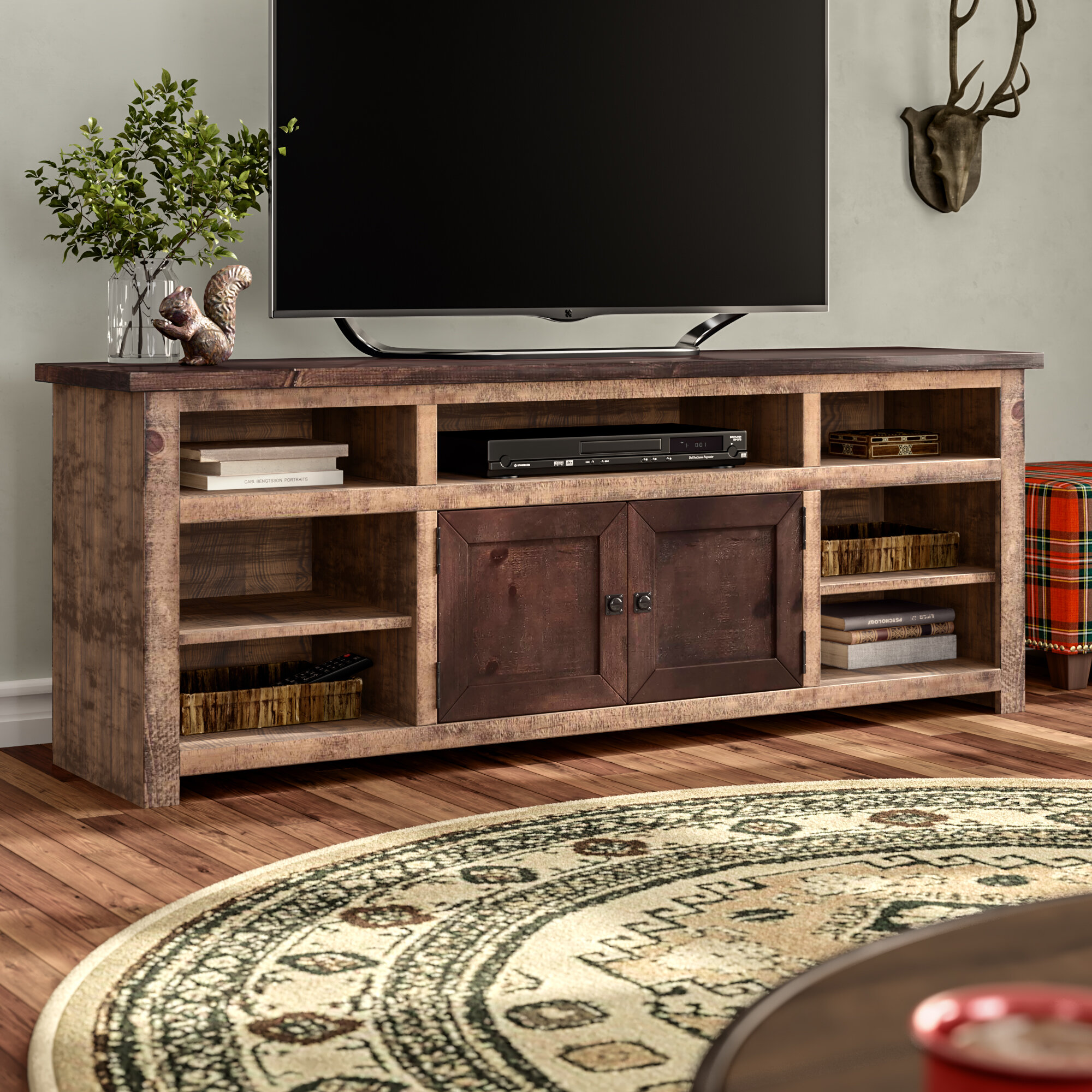 Cottage   Country   Rustic TV Stands   Entertainment Centers You ll ... ea3dabab1e24