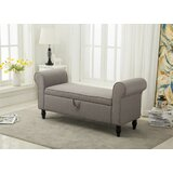 Souther Upholstered Storage Bench by Charlton Home®
