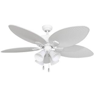Palm leaf ceiling fan wayfair aloadofball Choice Image
