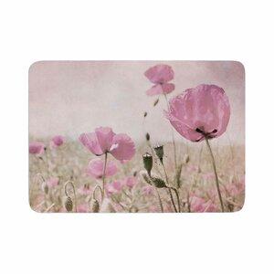 Iris Lehnhardt Summer Dream Floral Memory Foam Bath Rug