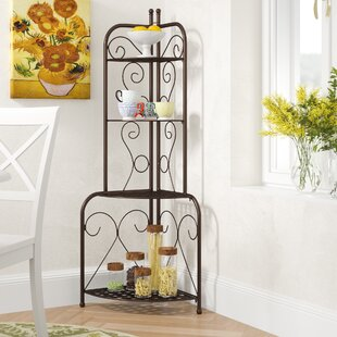 Snowberry Iron Baker's Rack