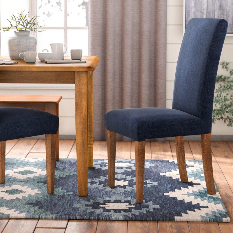 Merveilleux Latitude Run Torkelson Denim Dining Side Chair U0026 Reviews   Wayfair