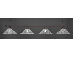 Red Barrel Studio Almaden 4-Light Billiard Pendant