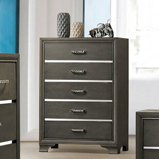 Plemmons 5 Drawer Chest by House of Hampton No Copoun