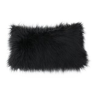 Vanbuskirk Faux Fur Lumbar Pillow