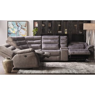 Saffron Reclining Sectional by Latitude Run