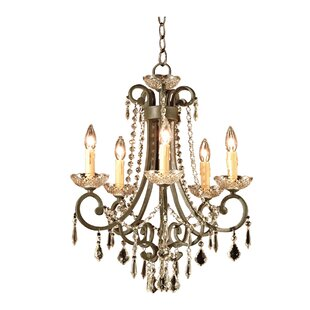 JB Hirsch Home Decor 5-Light Candle Style Chandelier