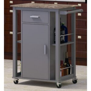 Adaon Kitchen Cart by Orren Ellis Best Reviews