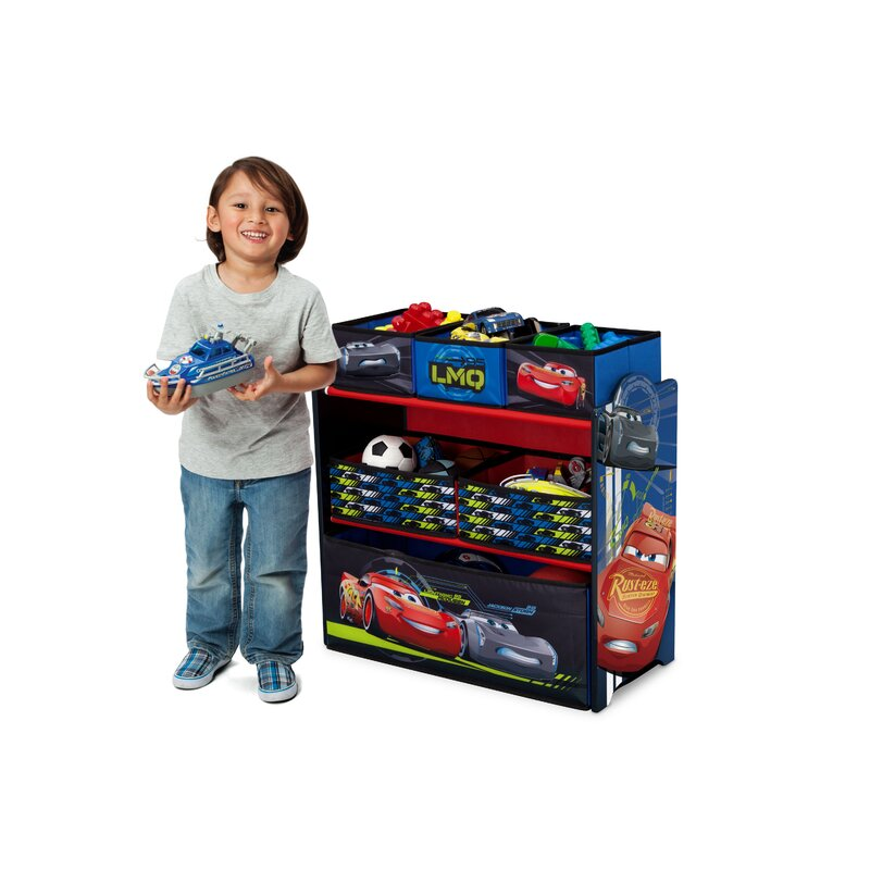 cars multi bin toy organizer image collections