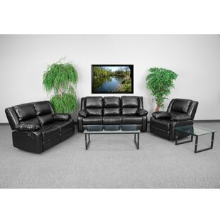 Harben Reclining 3 Piece Living Room Set