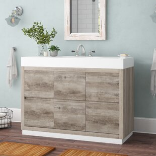 Malakai 48 Single Bathroom Vanity By Wade Logan