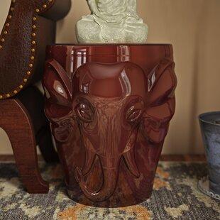Pottorff Wild Elephant Garden Stool