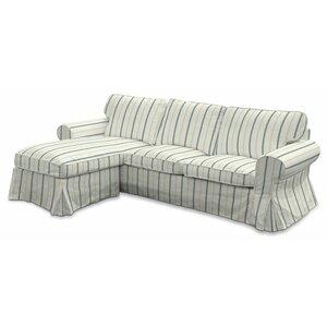 2-Sitzer Einzelsofa-Bezug Avinon von Dekoria