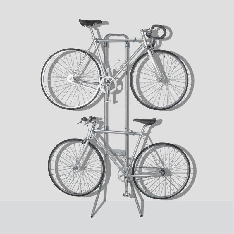 Delta Cycle Fat Tire Leonardo Wall Rack /& Tray Silver