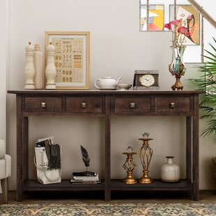 Sharyn 59'' Solid Wood Console Table By Red Barrel Studio