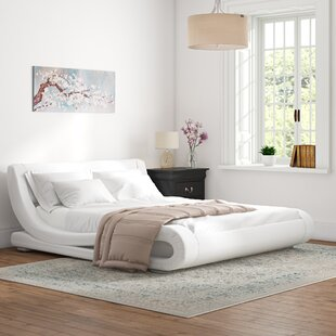 Review Avignon Upholstered Platform Bed