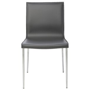 Nuevo Colter Genuine Leather Upholstered Dining Chair