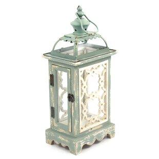 Ophelia & Co. Iron and Wood Lantern