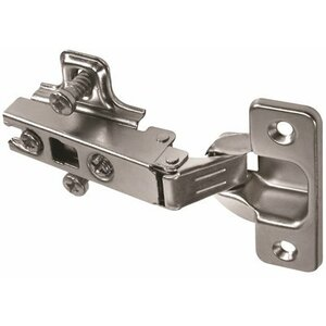 Anvil Marku00ae Self-Closing Concealed Hinge for Frameless Cabinets and Full Overlay (Set of 2)