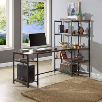 Latitude Run Avdija L Shape Desk Wayfair