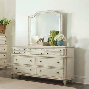 Waverley 7 Drawer Double Dresser with Mirror
