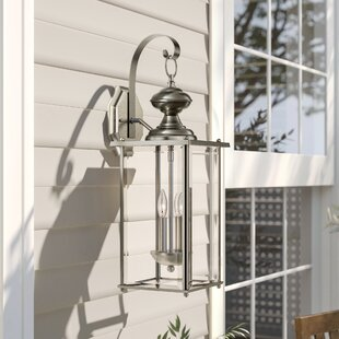 Pellston 2-Light Outdoor Wall Lantern by Birch Lane™ Heritage Great Reviews
