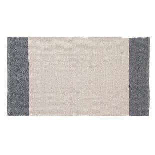 Linden Hand-Woven Cream/Gray Indoor/Outdoor Area Rug