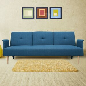 Corrigan Studio Aldridge 3 Seat Fabric Sofa