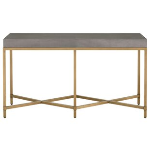 Ormside Shagreen Console Table By Gracie Oaks