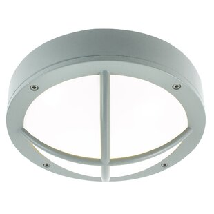 South Freeport 1 Light Outdoor Flush Mount By Breakwater Bay