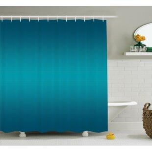 Inspired Tropic Ocean Room Decor Shower Curtain + Hooks
