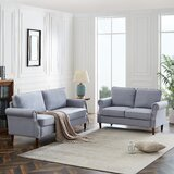 Akiyah 2 Piece Standard Living Room Set by Red Barrel Studio®
