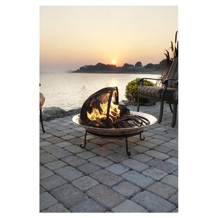 Copper Charcoal Fire Pit By Good Directions