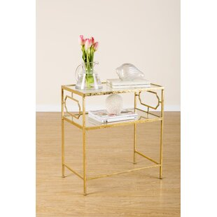 Iris End Table by Statements by J