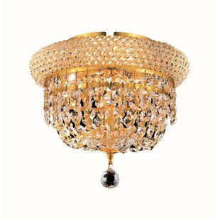 Willa Arlo Interiors Jessenia 3-Light Flush Mount