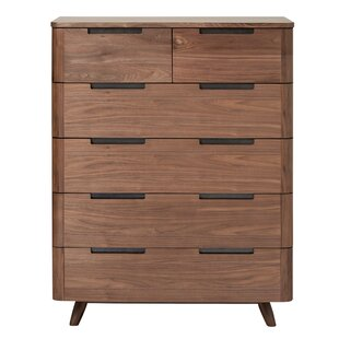 Corrigan Studio Cottle 6 Drawer Chest