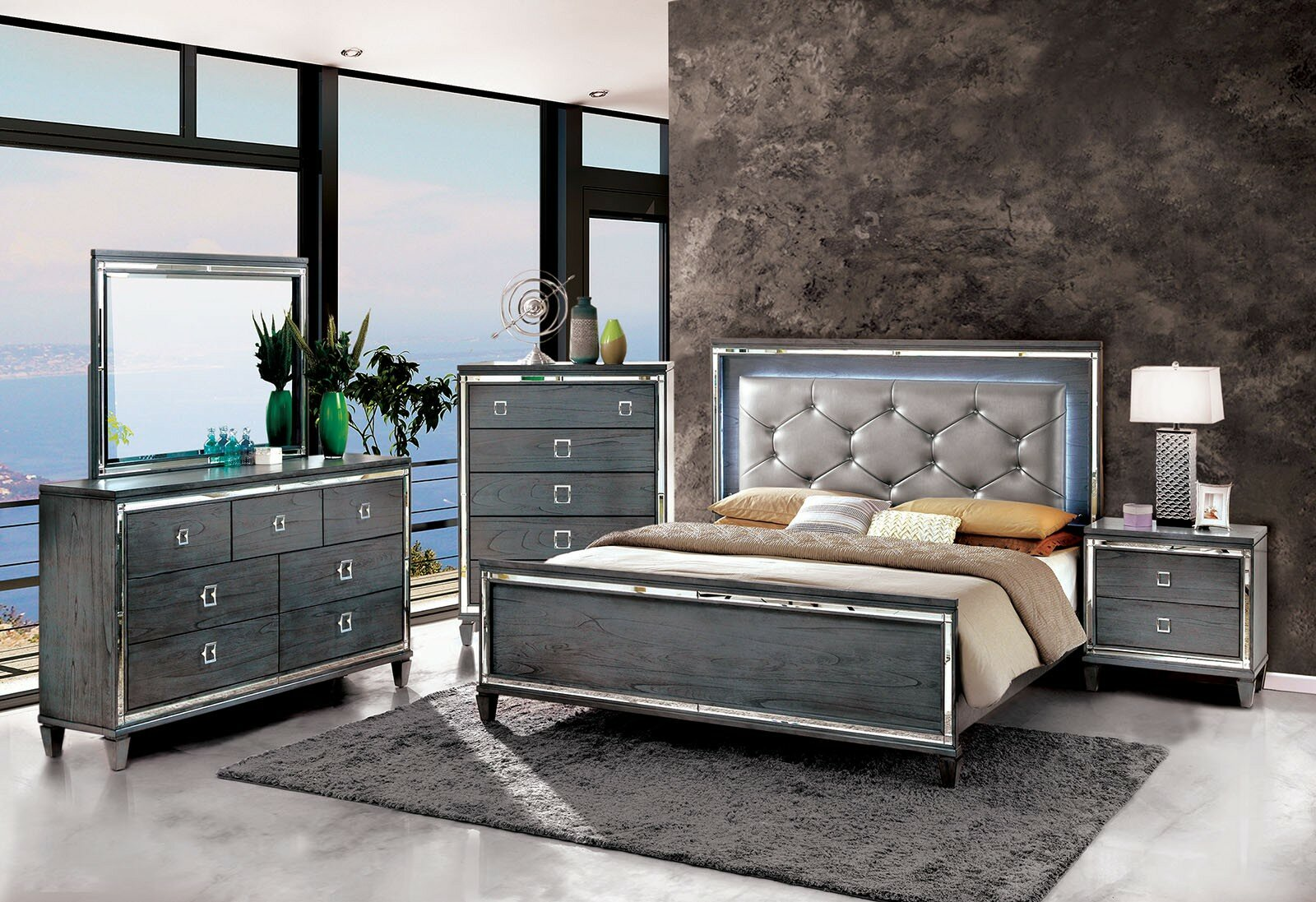 Rosdorf Park Dunsmuir Standard Configurable Bedroom Set ...