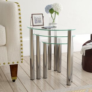 Corona 3 Piece Nest Of Tables By Metro Lane