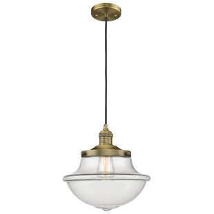 Breakwater Bay Draeger 1-Light Schoolhouse Pendant