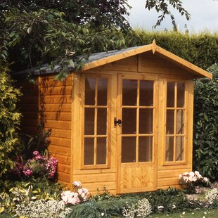 6.5 X 6.5 Ft. Shiplap Summer House By Sol 72 Outdoor